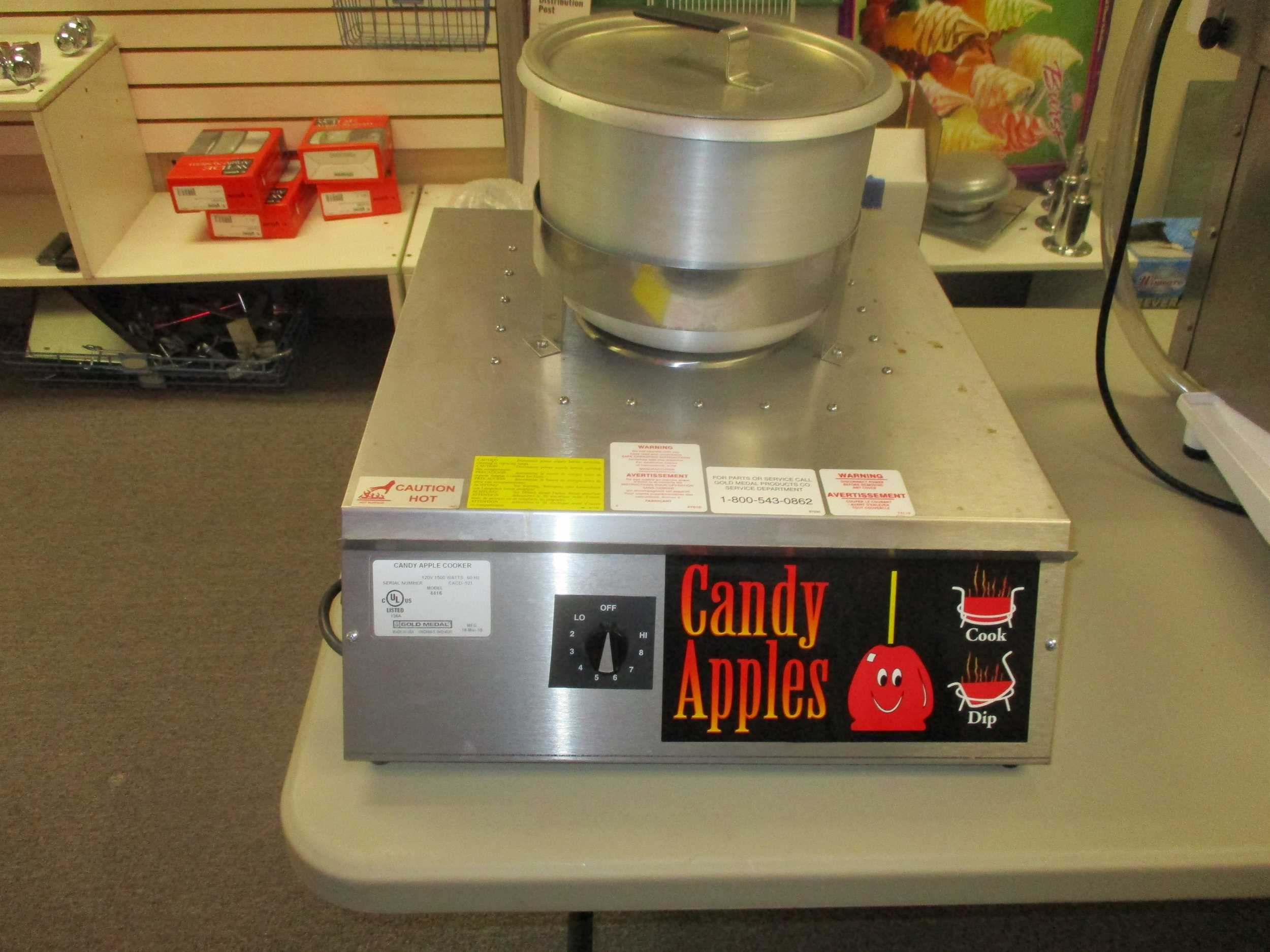 #4416 Hot Shot Elec. Candied Apple Stove
